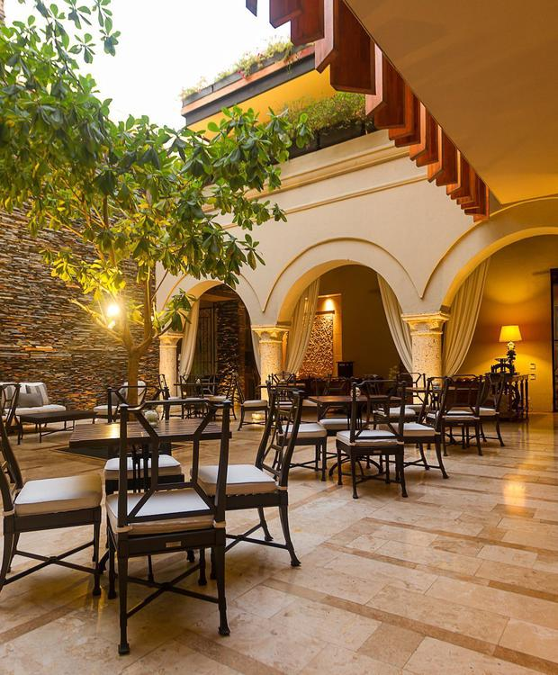 Courtyard El Gobernador in Bastión Luxury Hotel Bastion Luxury Hotel Cartagena