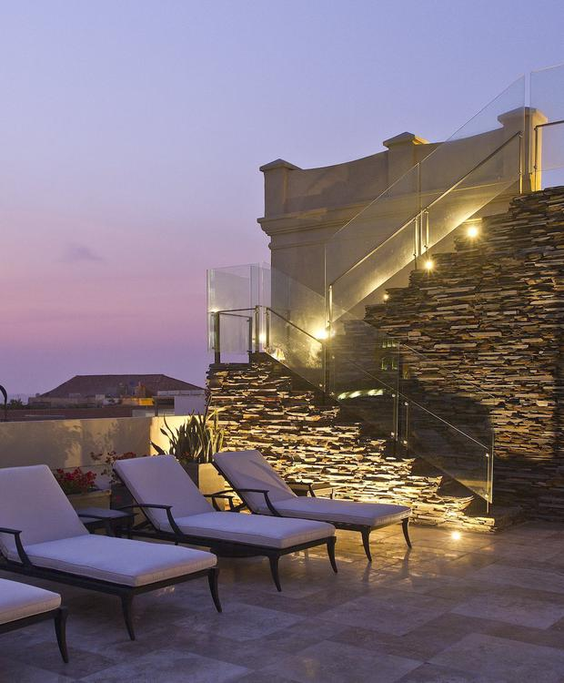Viewpoint of the Bastión Luxury Hotel Bastion Luxury Hotel Cartagena
