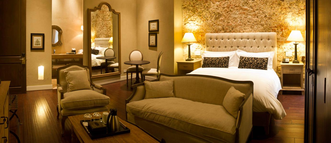 Our rooms: - Bastion Luxury Hotel - Cartagena